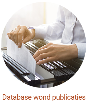 database wond publicaties